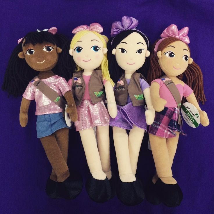 Adorable new plush fun dolls are now available at your local #GSNorCal shop or Online. $19.95 available in Brownie and Junior Girl Scouts.   http://www.girlscoutshop.com/NEW-BROWNIE-AND-JUNIOR-FUN-DOLLS