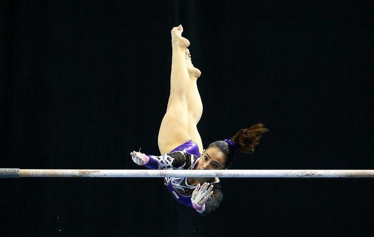 Malaysian Gymnast Under Fire For Wearing Leotard Despite Winning Gold (Photos)