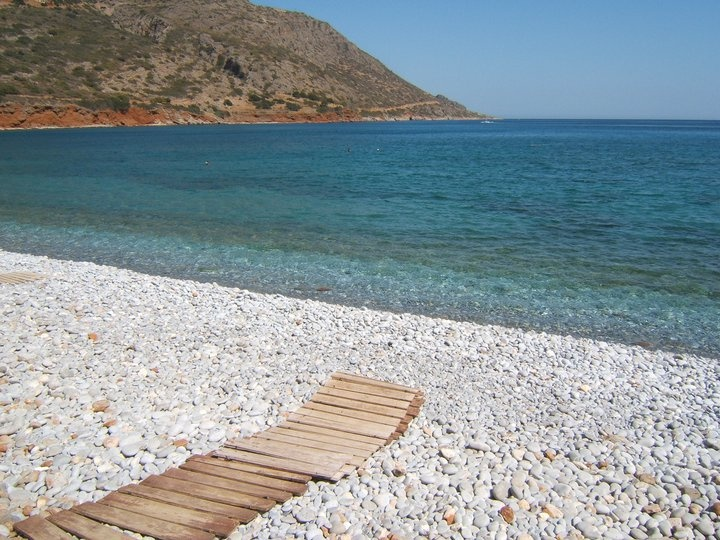 Agia Roumeli Crete The beaches of Agia Roumeli wider area are magnificent, spanning a length of 3km.