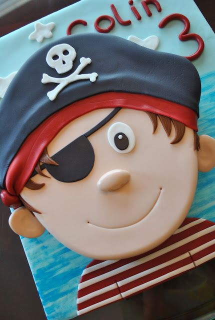 #Pirate theme - For all your Pirate cake decorating supplies, please visit http://www.craftcompany.co.uk/occasions/party-themes/pirate-party.html