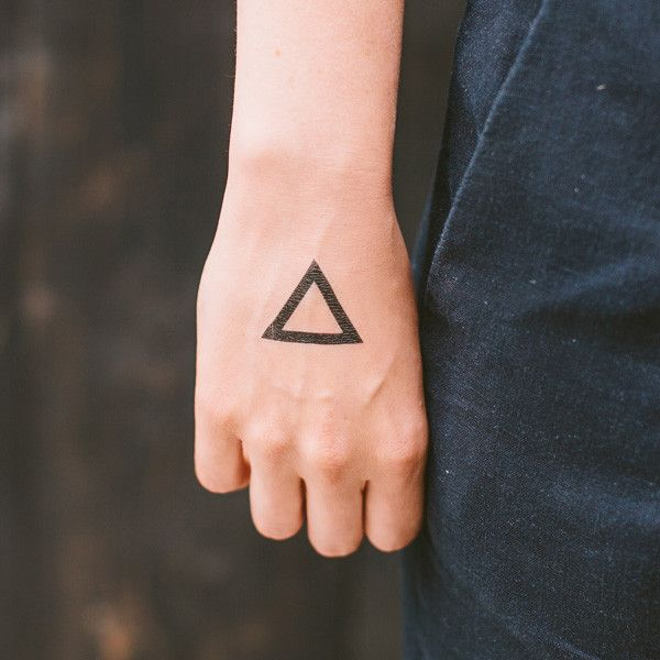 Triangle by Yoko Sakao Ohama is a simple, geometric Tattly. Wear them as is or use them in some creative hacks!