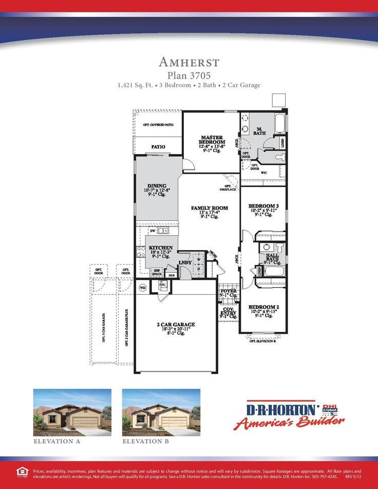 dr horton floor plans. Dr Horton Express Homes Floor Plans N