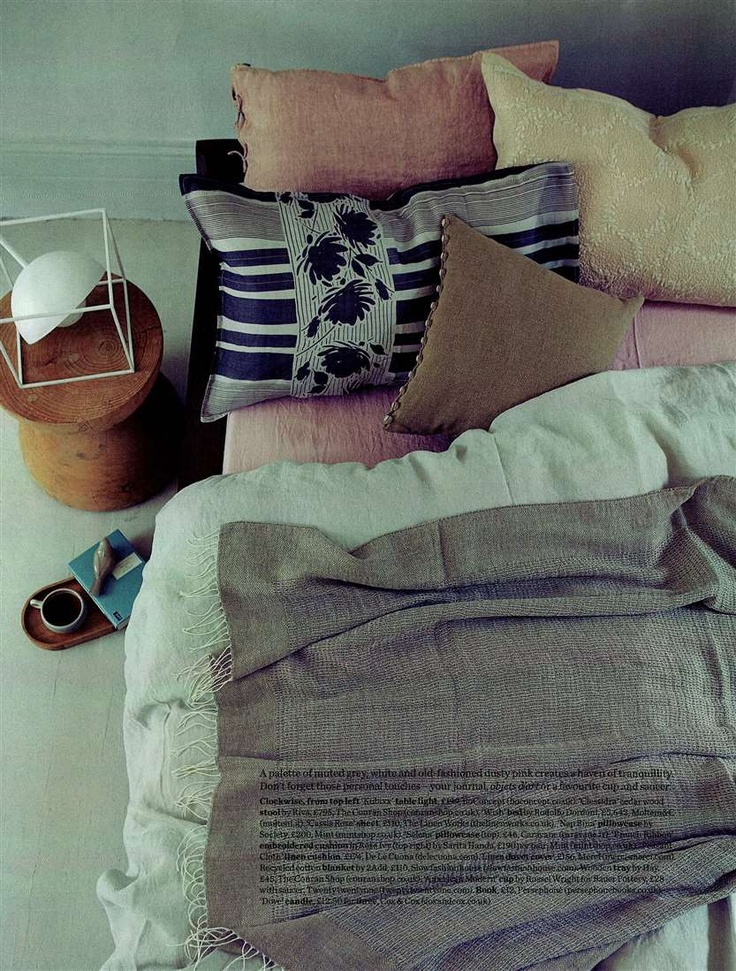 Elle Decoration Ukjune 2013 stylist Hannah Bort printed pillow case by Society & 122 best EDITORIALS images on Pinterest | Stylists Bed linens and ... pillowsntoast.com