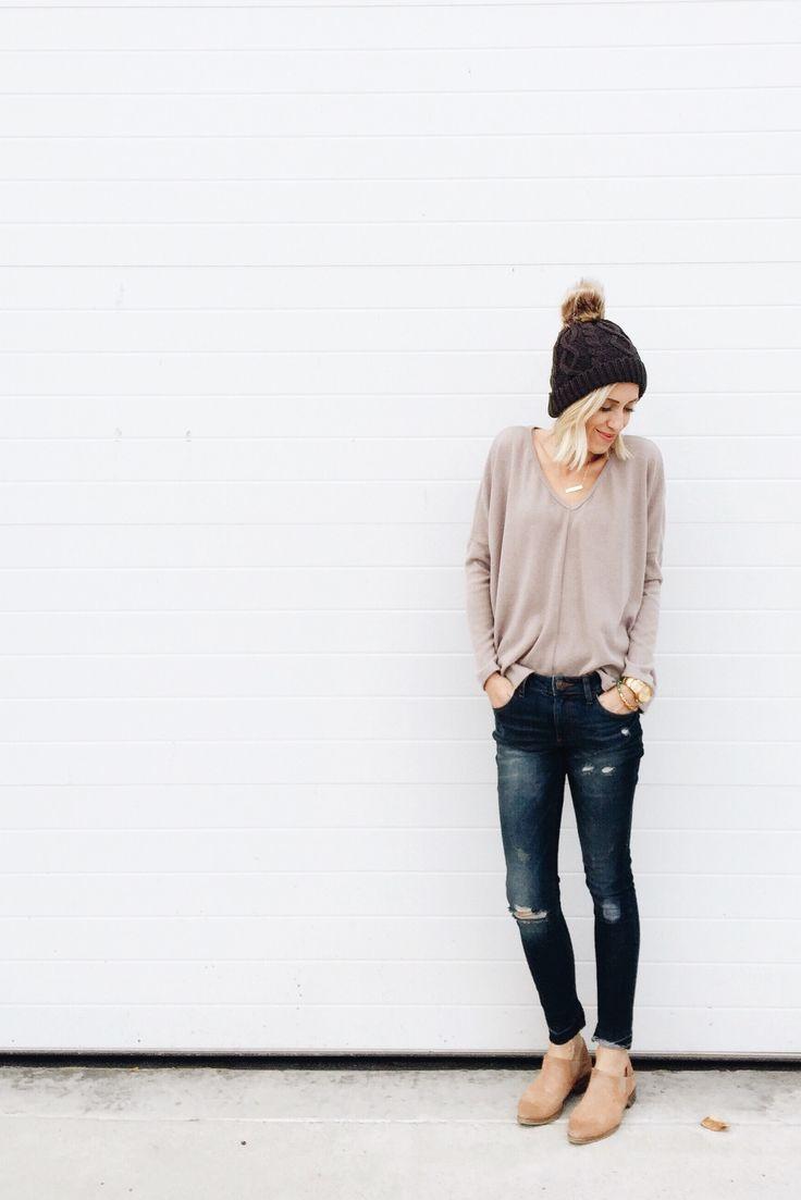 long sleeves + beanies