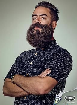 Best Sculpted Beards Images On Pinterest - Guy shapes beard fun creative designs