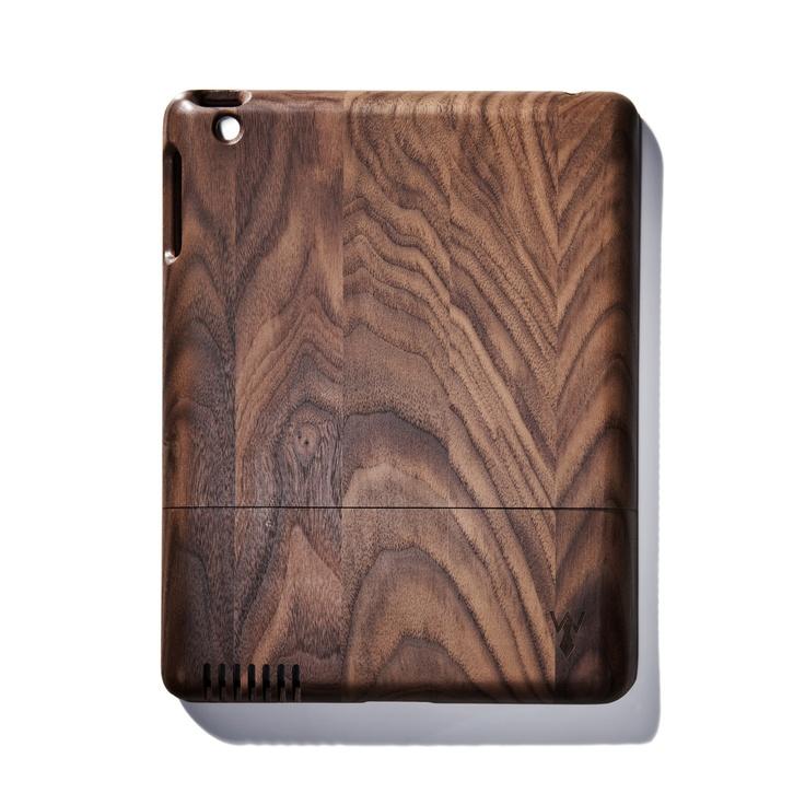 Solid Dark Walnut iPad Case / designed by Jonathan Boos: Solid Walnut, Walnut Ipad, Solid Piece, Generation Ipad, Ipad Cases, Solid Dark, Ipad Covers, Wood Ipad, Dark Walnut