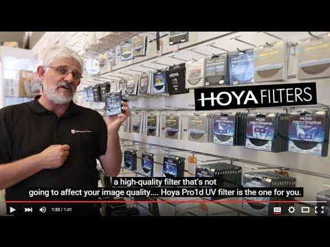 Watch Video Review then Buy Hoya Pro1d UV Filters | Cameras Direct Australia