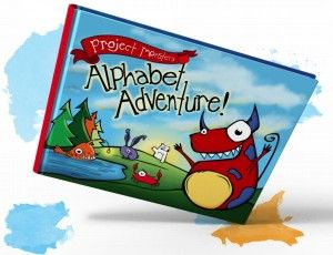 Project Monster's Alphabet Adventure! So many cute creatures, so fun to read, perfect gift for kids 0-8 years!