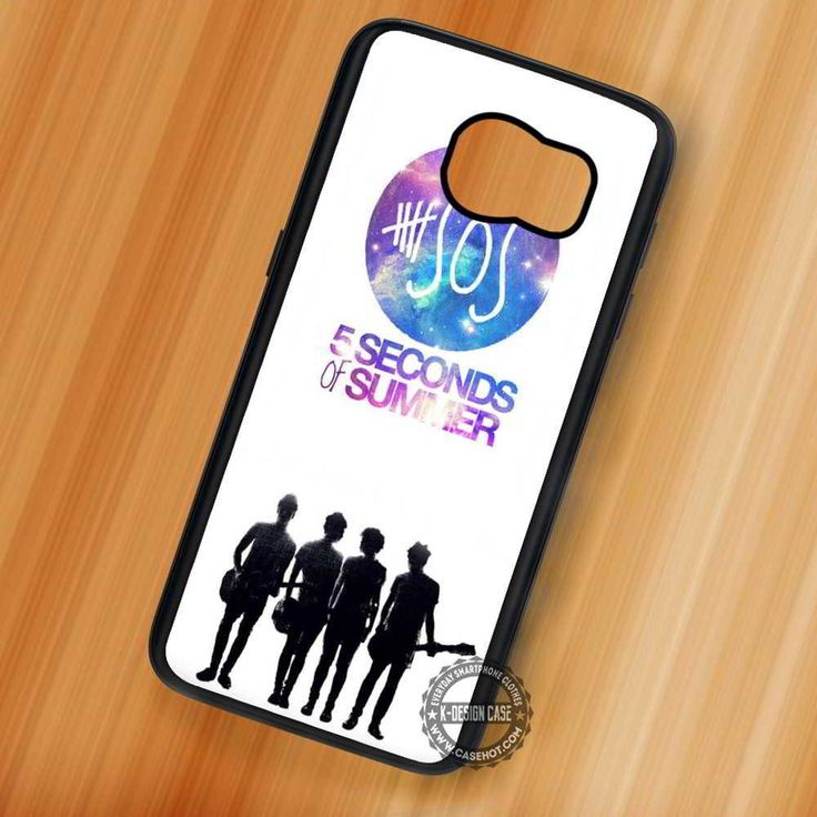 Silhouette Music 5 Seconds of Summer - Samsung Galaxy S7 S6 S5 Note 7 Cases & Covers
