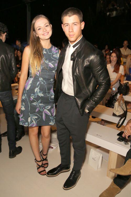 Emily Meade + Nick Jonas