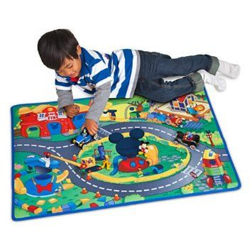 Amazon.com: Mickey Mouse Clubhouse - Mickey & Donald Play Mat & Vehicles Play Set - 3-pc: Toys & Games