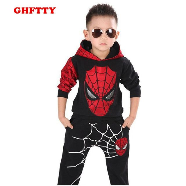 Buy now Spiderman Suit Children Boys Clothing set Baby Boy Spider man Sports Suits 3-10 Years Kids 2pcs Sets Spring Autumn  Tracksuits just only $12.74 - 13.65 with free shipping worldwide  #boysclothing Plese click on picture to see our special price for you