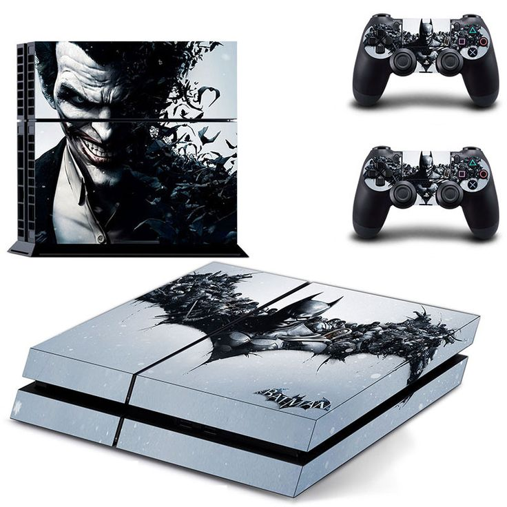Check out our cool selection of Batman Stickers available now! Includes stickers for gaming system and stickers for two controllers! Brand Name: Ps4 Model Number: GYTM0073 Type: Sticker Cover for Sony