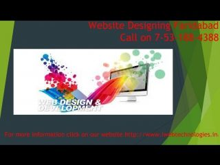 Web Design | Website Design Faridabad & Development Services Company – I web technology is one of the leading Website Design & Development Services Company India & Digital Marketing Agency located in Faridabad. For more learning visit our webpage http://www.iwebtechnologies.in/