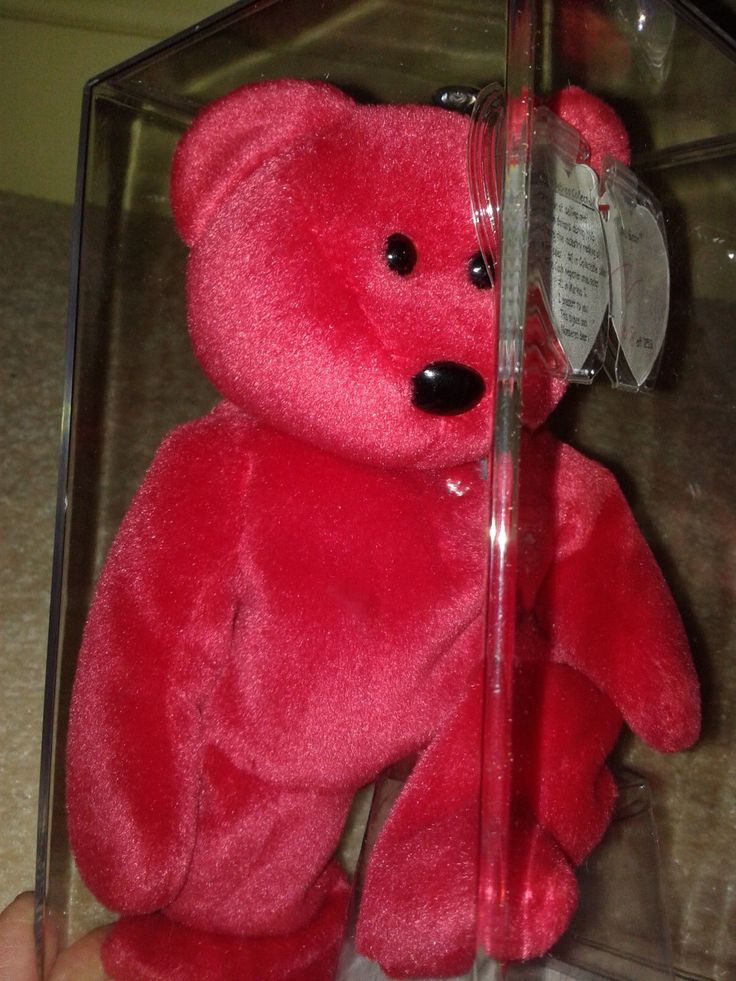 This Beanie Babies - #1 The Bear - sold for $1,500 on eBay. The highest selling Beanie Babies sale of 2014.   It's autographed by company founder Ty Warner.  www.lovemybeanies.com