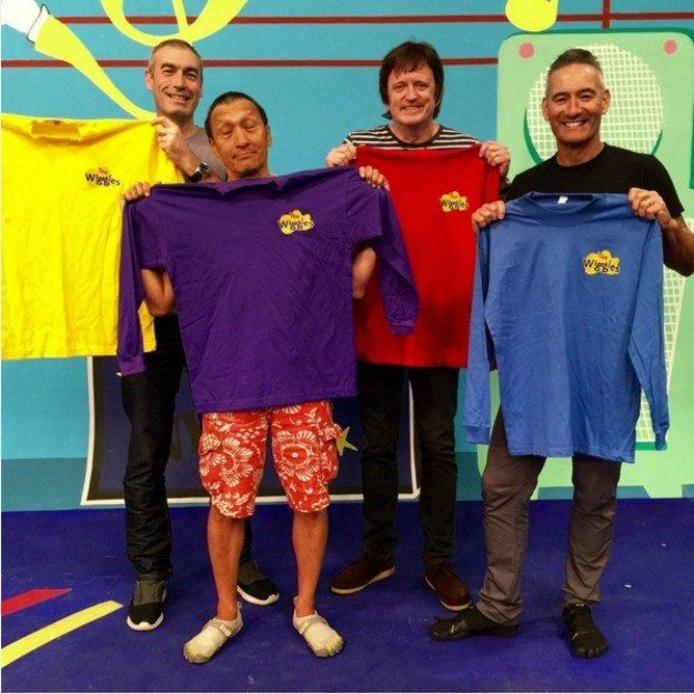 Community Post The Wiggles Original Lineup Reunited For