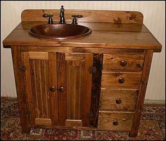 Country Bathroom Vanities