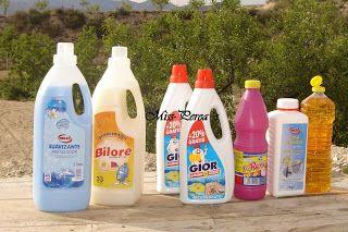 miss-perea's: Cómo hacer jabón líquido casero para la lavadora.
