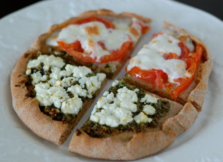 Recipe: Homemade Whole-Wheat Pizza http://www.100daysofrealfood.com