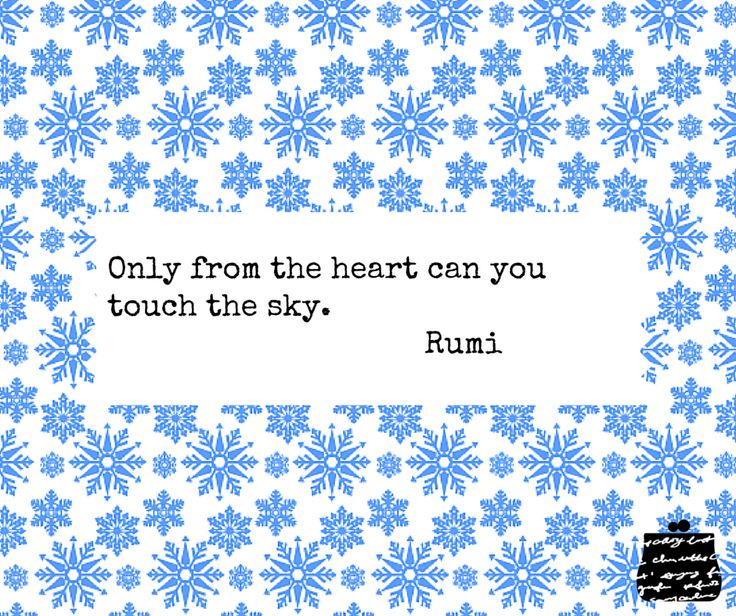Only from the heart can you touch the sky. - Rumi -  #quotes #wisdom #inspiration #heart #rumi