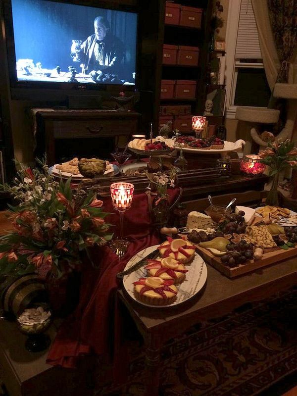 This Game of Thrones party snack spread should win the Iron Throne by rights