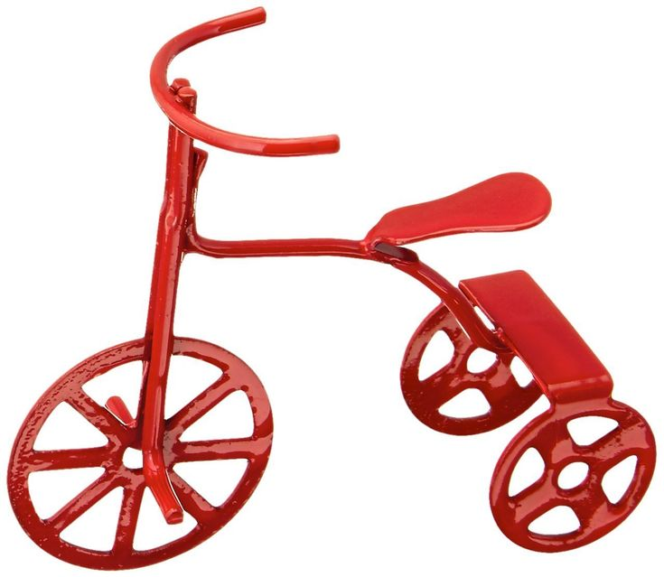 Darice 2318-81 Miniature Red Tricycle: Amazon.ca: Home & Kitchen