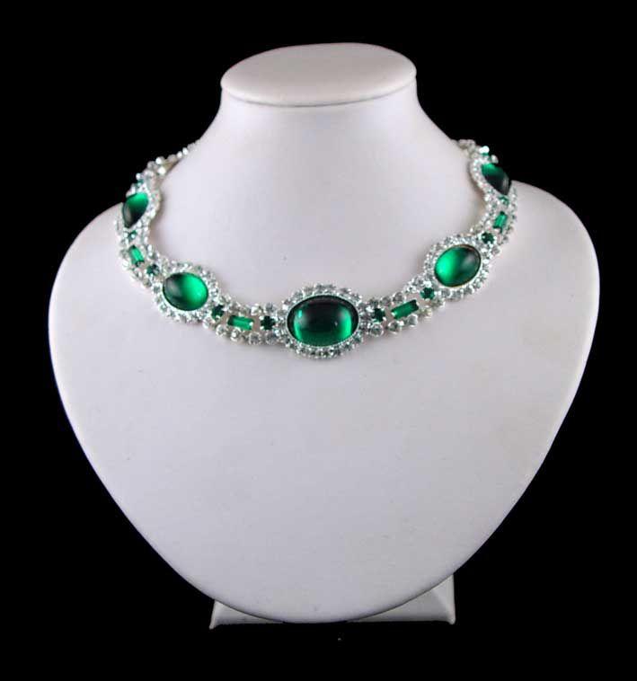 Collana di smeraldi della principessa Diana (riproduzione)