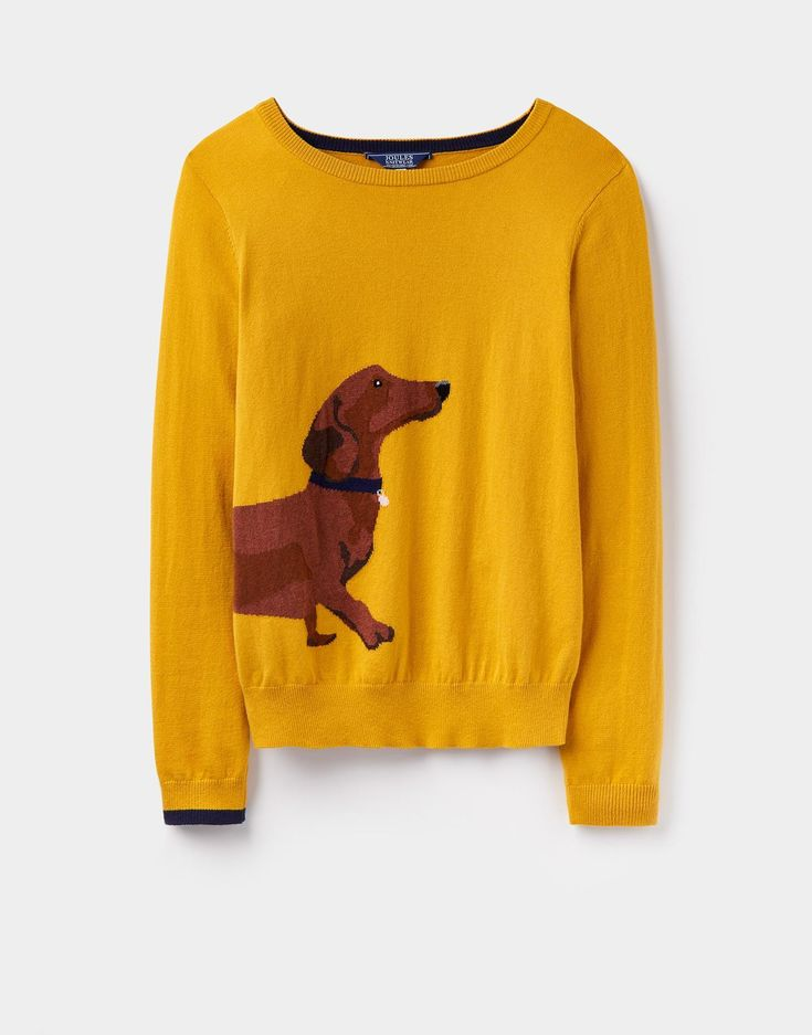 Dachshund sweater.
