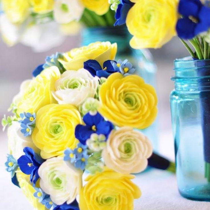цветы для сине-желтый свадебного букета: 17 тыс изображений найдено в Яндекс.Картинках