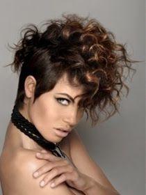 el mundo del peinado cortes modernos para pelo corto rizado