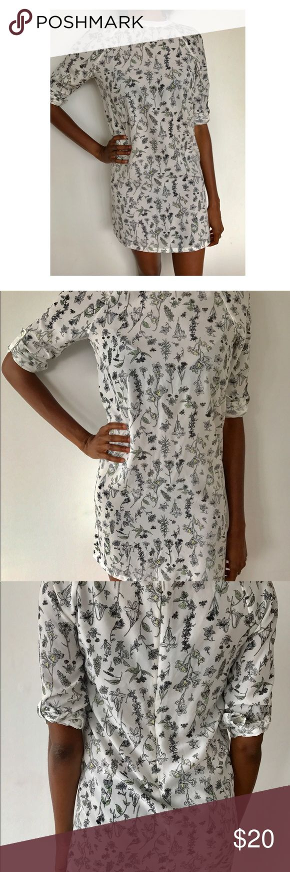 Joe Fresh Dress Floral Joe Fresh Dress. Never worn! Joe Fresh Dresses Mini