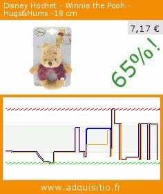 Disney Hochet - Winnie the Pooh - Hugs&Hums -18 cm (Puériculture). Réduction de 65%! Prix actuel 7,17 €, l'ancien prix était de 20,46 €. https://www.adquisitio.fr/disney/5872275-hochet-winnie-the