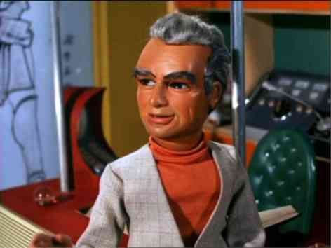 Jeff Tracey / voiced by Peter Dyneley / Thunderbirds tv show 1965-66