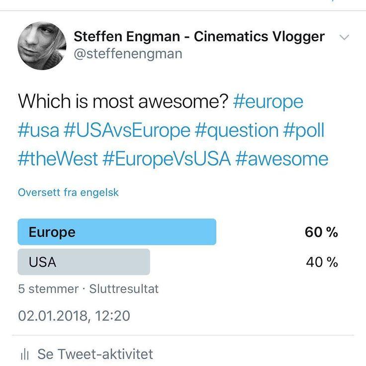 Europe won !