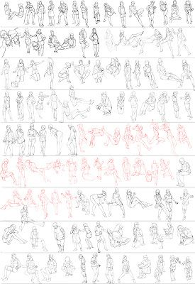 Gesture studies ✤ || CHARACTER DESIGN REFERENCES |