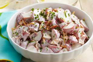 "Loaded ""Baked Potato"" Salad recipe ~ loved it! Will never make regular potato salad again."