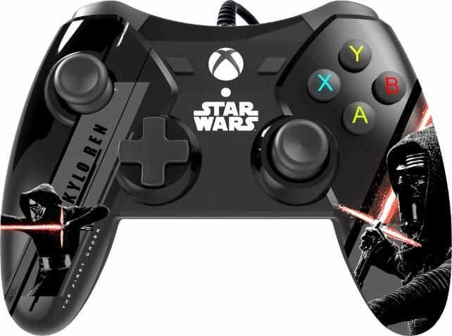 $19.99 for Star Wars: The Force Awakens Wired Controllers for Xbox One @BestBuy (Reg $50) #LavaHot http://www.lavahotdeals.com/us/cheap/19-99-star-wars-force-awakens-wired-controllers/121924