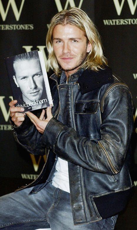 Young David Beckham. Reminds me of Luke