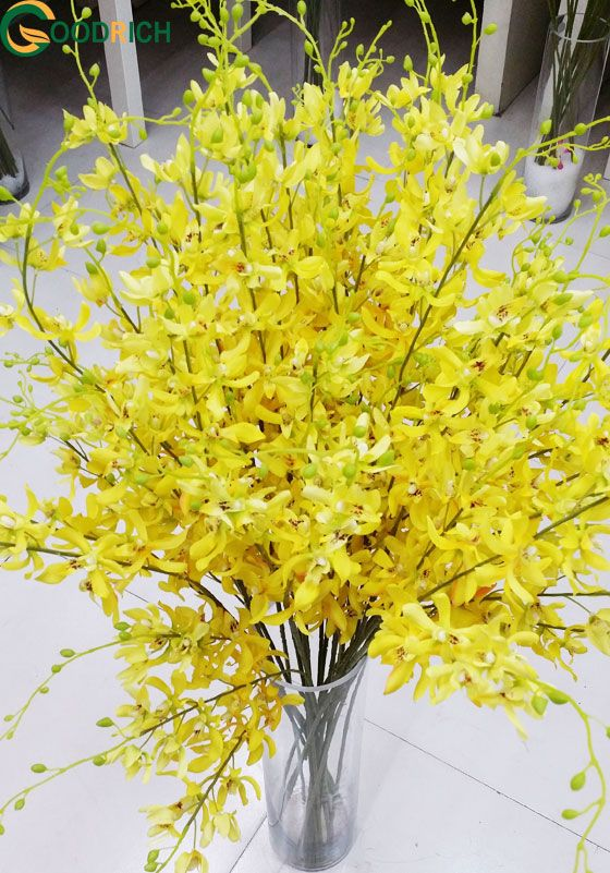 New Design Dancing Orchid for Christmas Decoration