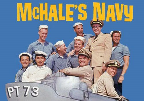 McHale's Navy. Ernest Borgnine, Joe Flynn, Tim Conway, Carl Ballantine. 1962 - 66