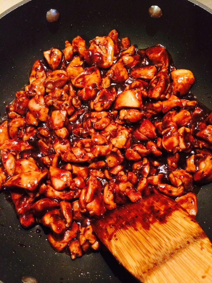Chicken black pepper