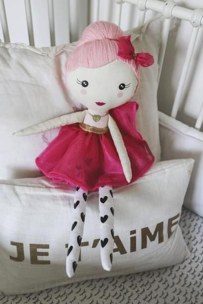 The Grace doll by The Doll Kind is a soft, huggable doll that comes with tokens for children to give as a random act of kindness. A gift that gives back!