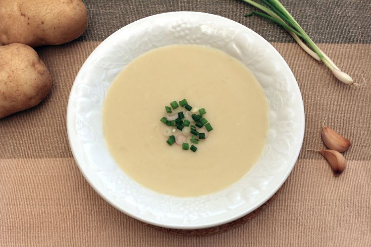 Zemiaková polievka krémová