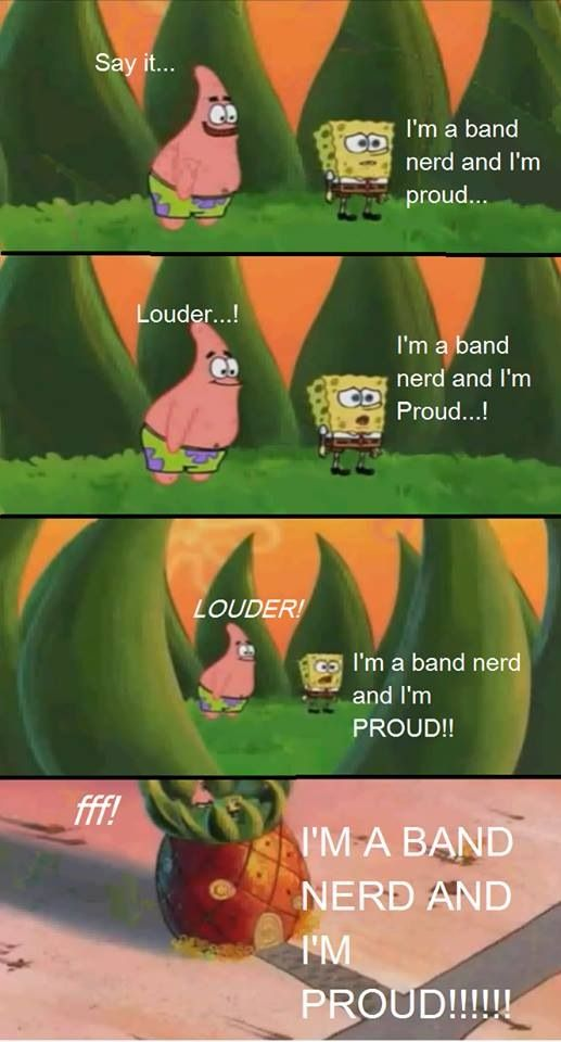 BAND GEEK PRIDE!