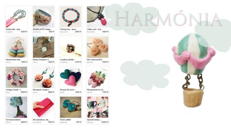 A Meska egyedi kézműves tárgyak. Illusztráció: Neverland hőlégballon medálja http://www.meska.hu/ProductView/index/725348