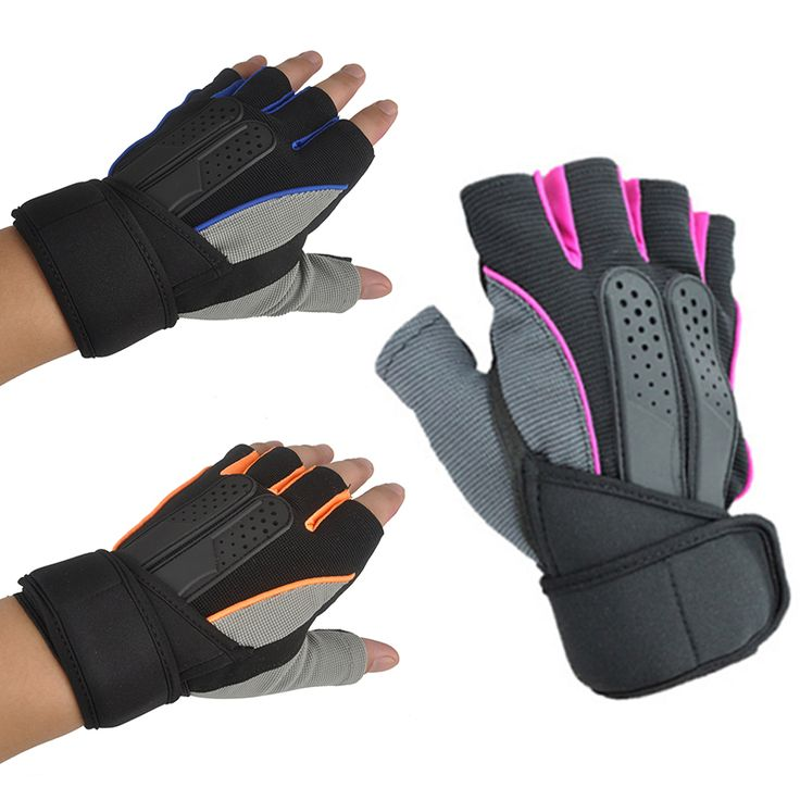 Breathable Sporting Exercise Fitness Weight Lifting Gym Gloves Wrist Workout