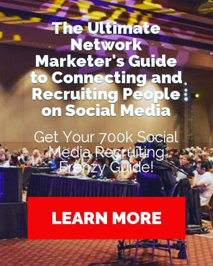 OK here's the deal. If you're in Network Marketing industry and you're trying to move from the Offline to Online world but failed miserably this is what you're looking for. Get yourself the 700K Social Media Recruiting Frenzy Guide and explode your business. Just click the link in my bio visit my blog and wait for 5 seconds. As soon as you see this image follow instructions and enjoy!!!