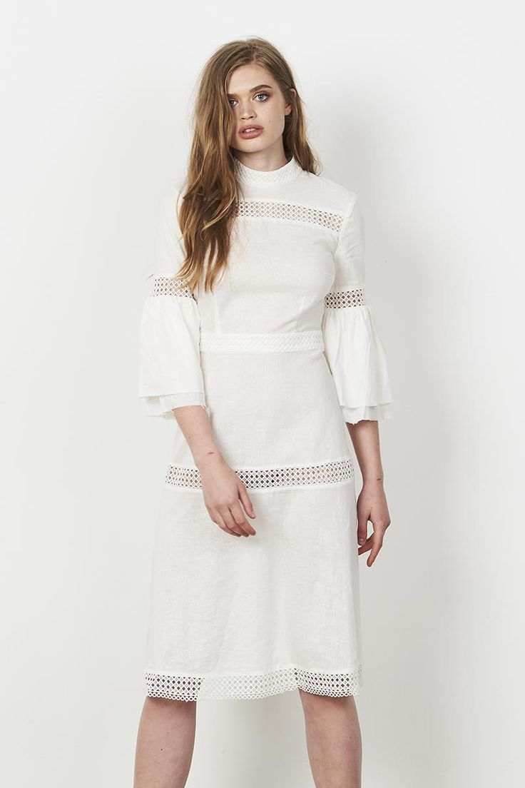 Stevie May Lady Vixen LS Midi Dress
