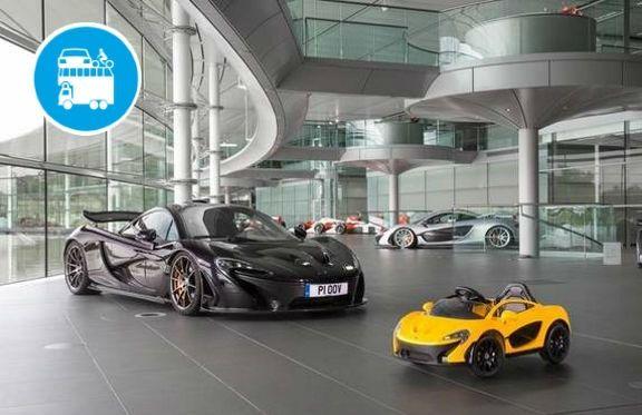 La prima auto elettrica per baby piloti è firmata McLaren!
