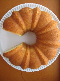 High Altitude Bundt Cakes: Pound Cake